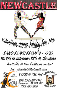 Valentine dance Feb 14 2019